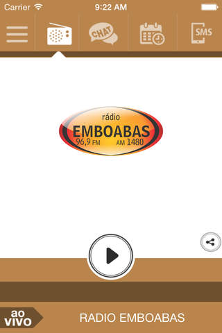 Emboabas FM screenshot 1