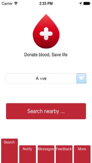BloodRegistry- Find Blood Donar Nearby