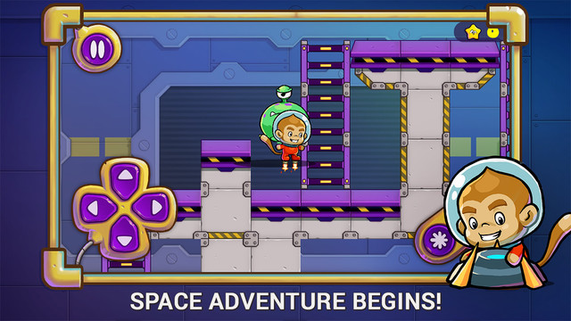 Treasure Runner - Space Adventure