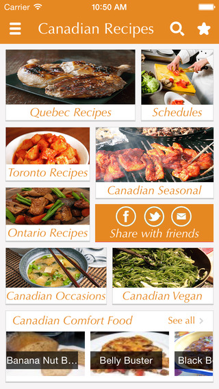 Canadian Food Recipes - best cooking tips ideas meal planner and popular dishes