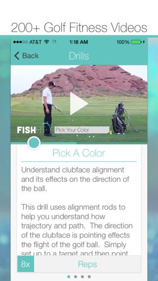 FishFit - Golf Fitness