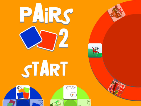 Pairs 2 - a concentration card game