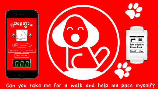 Dog Fit-GPS Navigation and Pace Limit Alert for your Dog Walks