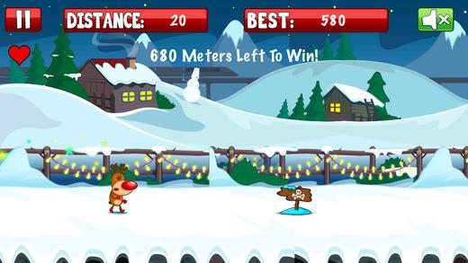 Christmas Reindeer Runner
