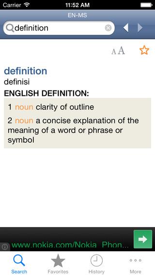 MalayEnglish Dictionary