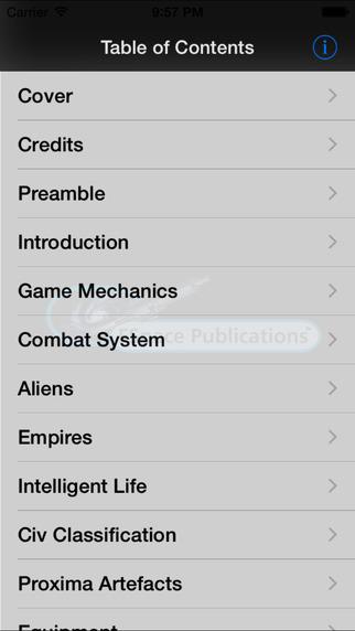 FSpaceRPG Net Rules 1 iPhone Screenshot 2