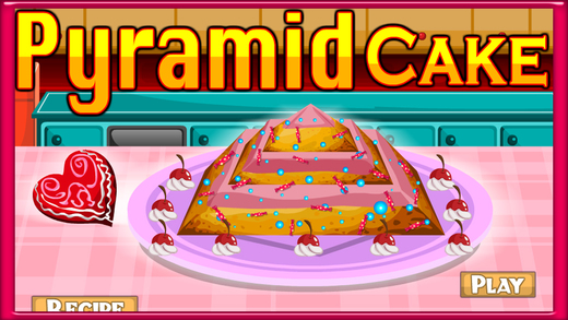 Pyramid Cake Cooking Game