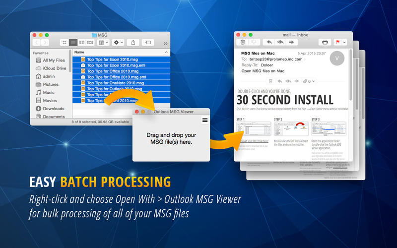 how to open msg files without outlook free