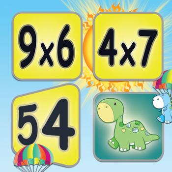 Multiplication: Math Facts Card Matching Game LOGO-APP點子