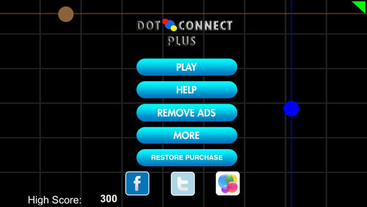 Dot Connect Plus - Tapped Out Two Dots and Experience the Collision HD