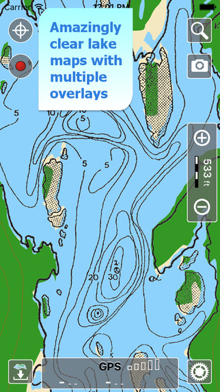Aqua Map Nova Scotia - Lakes GPS Offline Nautical Charts