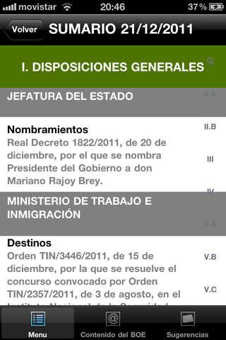 Boletín del Estado screenshot 4