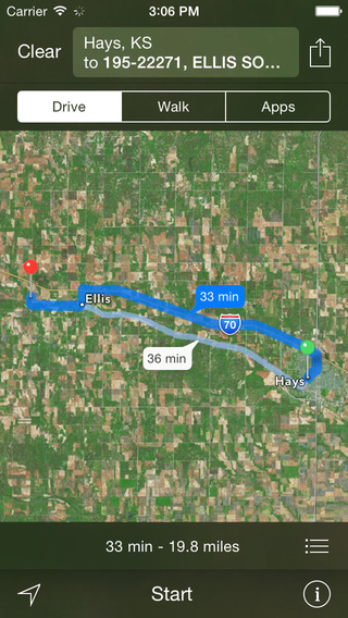 Kansas Oil Well Locator