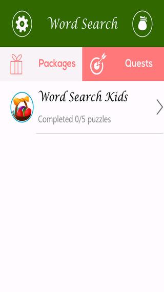 Word Search Kids Free