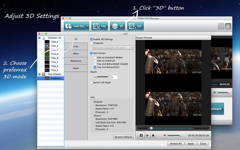 4Video DVD Manager Screenshot - 3