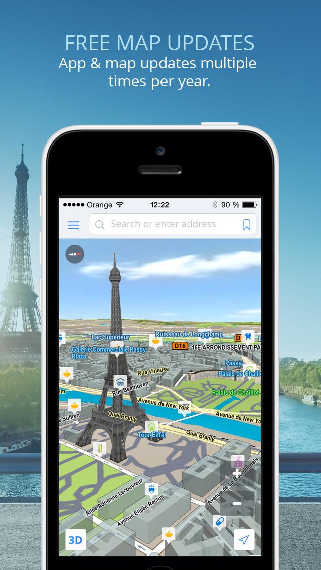 Sygic GPS Navigation Offline Maps POI Traffic Speed Cameras