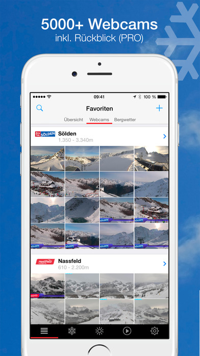 bergfex/Ski iPhone Screenshot 1