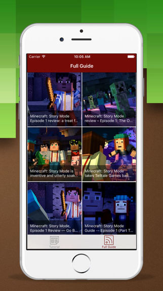 Guide for Minecraft-Story Mode