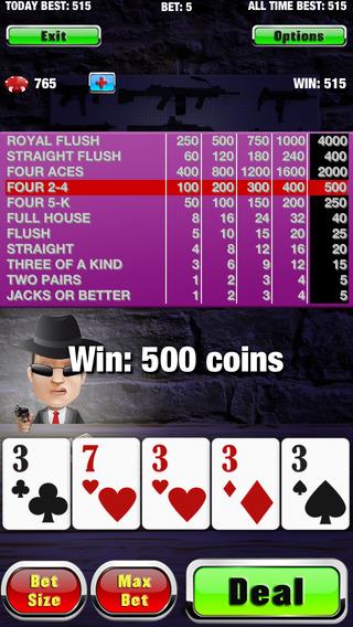 Underworld Video Poker