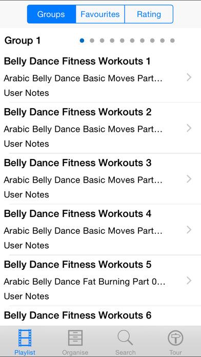 Belly Dance Fitness iPhone Screenshot 2