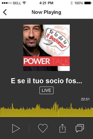 POWER TALK - TE LO DO IO IL BUSINESS screenshot 2