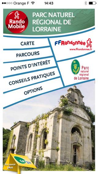 RandoMobile PNR Lorraine - randonnées dans le Parc Naturel Régional de Lorraine