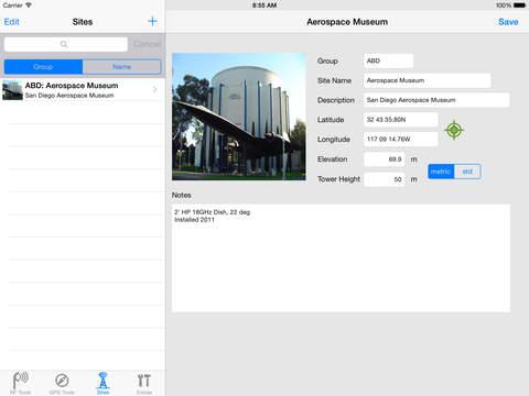 RF Toolbox iPad Screenshot 5