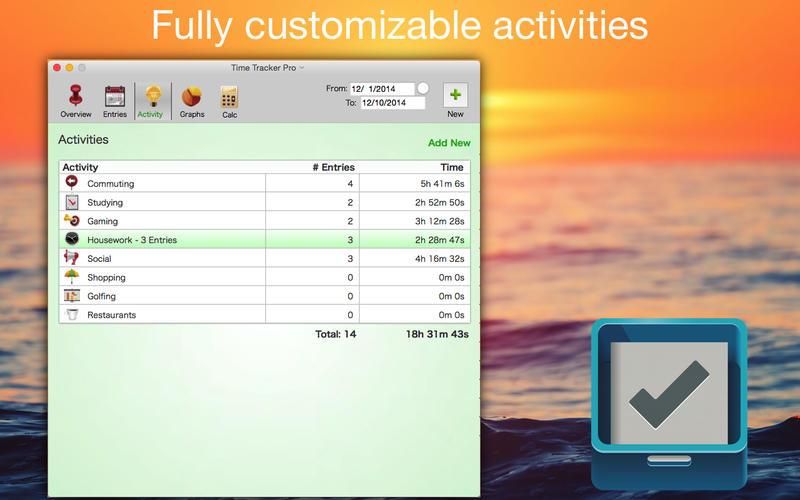 Time Tracker Pro Screenshot - 4
