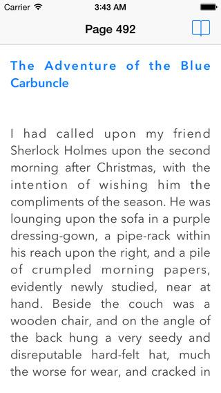 Sherlock Holmes (Español) iPhone Screenshot 3