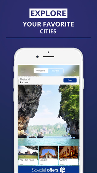 Thailand - your travel guide with offline maps from tripwolf guide for sights tours and hotels in Ba