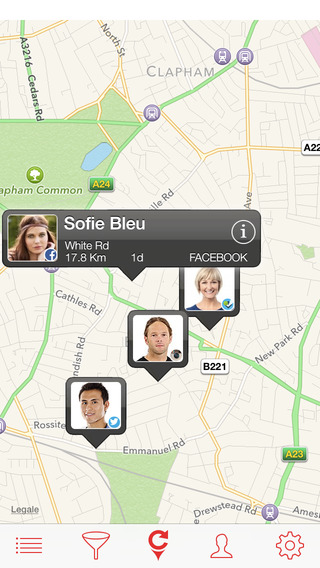 FriendsMApp The best way to Map your Friends