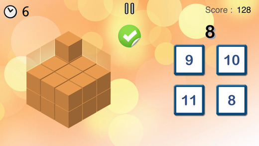 Math Champions - fun brain games for kids and adults (full version) Apps for iPhone/iPad screenshot