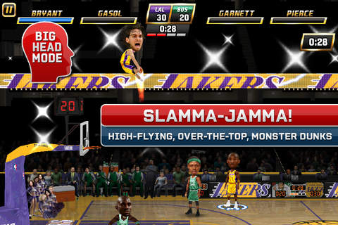 iphone NBA JAM by EA SPORTS™ Screenshot 2