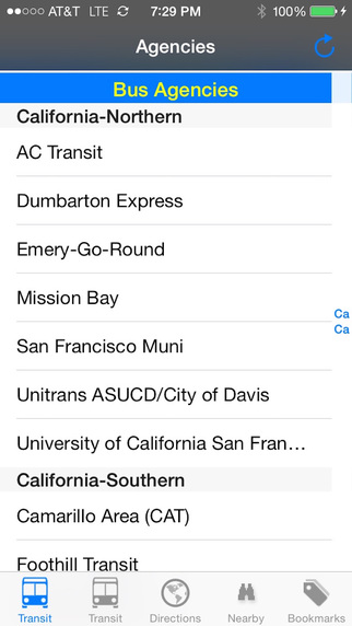 California Transit - Public Transit Search and Trip Planner Pro