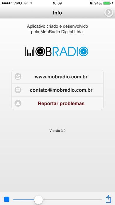 RÁDIO EXPRESSÃO BRASILEIRA / SÃO PAULO / BRASIL iPhone Screenshot 2