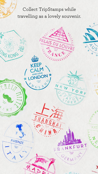 TripStamp – Collect stamps as souvenirs