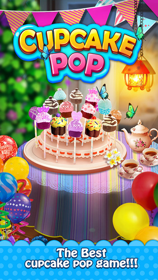 Cupcake Pop Maker Sweet Food Game
