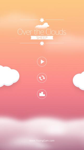 Sleepy Healing game Over the Clouds : Sheep