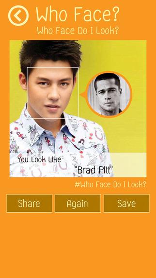 Who Face do i look