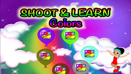Balloons Colors Preschool Learning Experience Target Game