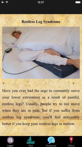 Restless Leg Syndrome - Medication