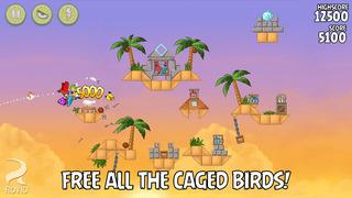 Angry Birds Rio screenshot 4