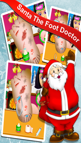 Little Foot Doctors - Christmas Games