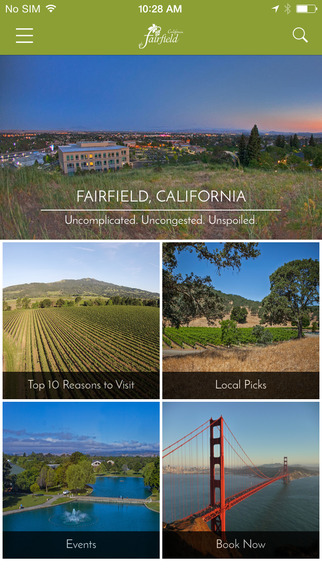 Visit Fairfield California
