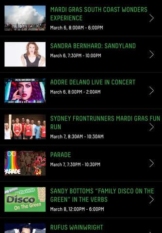 Sydney Gay and Lesbian Mardi Gras screenshot 2