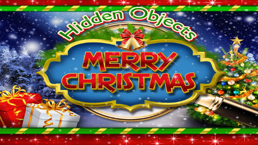 Hidden Objects – Merry Christmas Winter Holiday Object Time Puzzle Santa Game