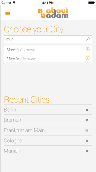 AboutAdam - Your mobile gay atlas for Germany