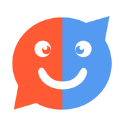GuessMe - meet new people nearby, solve their quiz, wink and socialize mobile app icon