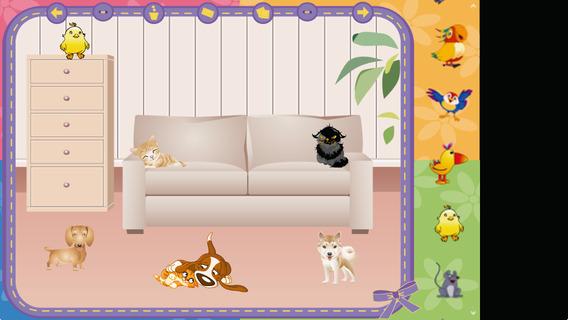 甜蜜宠物屋:Pets in the House【场景布置】