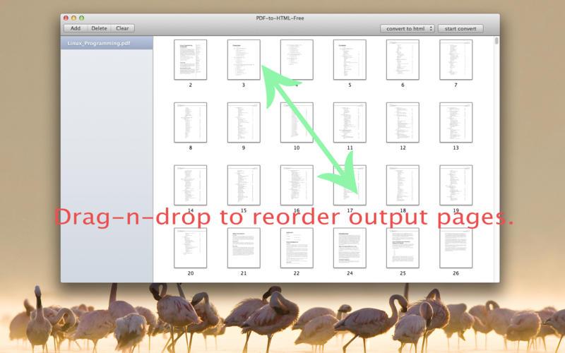 PDF-to-Excel-Free Screenshot - 2